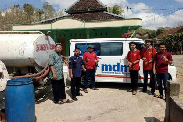 Bantuan Air Bersih Dsn. Gambir Manis Pracimantoro